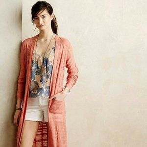 Anthropologie MOTH Early Sun Cardigan Duster